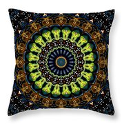 Dotted Wishes No. 3 Kaleidoscope Throw Pillow