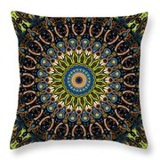 Dotted Wishes No. 4 Kaleidoscope Throw Pillow