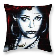 Dotty Diva Throw Pillow