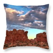 Double Arch 1 Throw Pillow