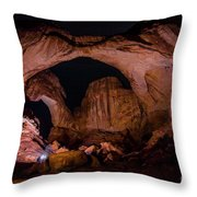 Double Arch Night Throw Pillow