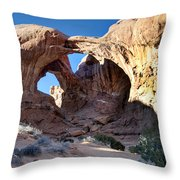 Double Arch Throw Pillow