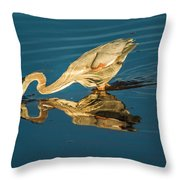 Double Dipper Throw Pillow