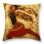 Double Dutch - Tile Throw Pillow