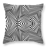 Double Punch Throw Pillow