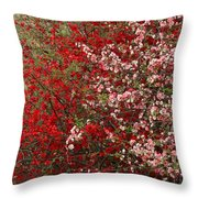 Double Quince Throw Pillow