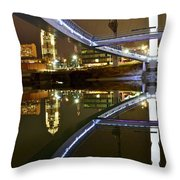 Double Skyline  Throw Pillow