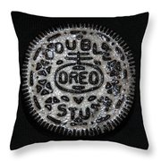 Double Stuff Oreo Throw Pillow