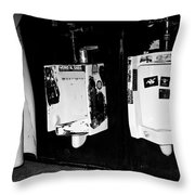 Double Trouble Throw Pillow