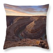 Doubleback Throw Pillow by Mike  Dawson