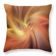 Doubled Vibrations Of Light Throw Pillow