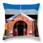 Doubleday Field Throw Pillow