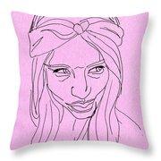 Doubtful  Throw Pillow