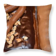Doughnut Love  Throw Pillow