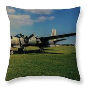 Douglas A-26 Invader Eaa Throw Pillow