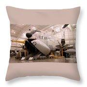 Douglas C 124c Globemaster Plane Throw Pillow