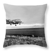 Douglas C-54 Skymaster, 1940s Throw Pillow