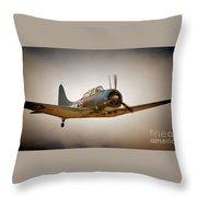 Douglas Dauntless No.39 Throw Pillow