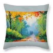 Douglas Holloway - Painting Throw Pillow