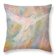 Dove Detail From Immaculate Conception Throw Pillow