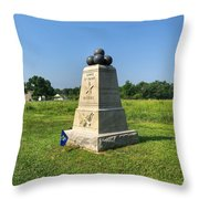 Dow 6th Maine Battery Throw Pillow
