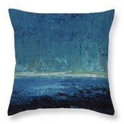 Down Comes The Night Throw Pillow