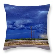 Down From Upon High Throw Pillow
