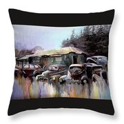 Down In The Dell Throw Pillow