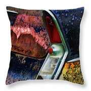 Down In The Dumps 10 Throw Pillow