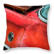 Down In The Dumps 12 Throw Pillow