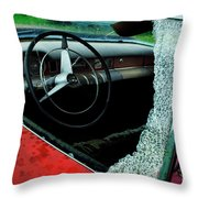 Down In The Dumps 13 Throw Pillow