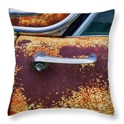 Down In The Dumps 15 Throw Pillow
