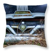 Down In The Dumps 18 Throw Pillow