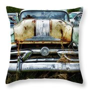 Down In The Dumps 2 Throw Pillow