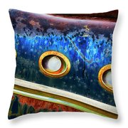 Down In The Dumps 8 Throw Pillow