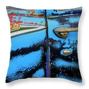 Down In The Dumps 9 Throw Pillow