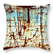 Down In The Dumps Throw Pillow