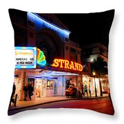 Down On Duval In Key West Throw Pillow