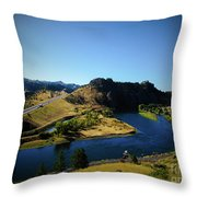 Down On The Missouri Throw Pillow
