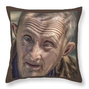 Down Syndrom Throw Pillow