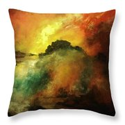 Down To Earth Throw Pillow