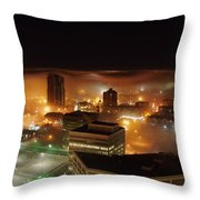 Downdown Calgary  Throw Pillow