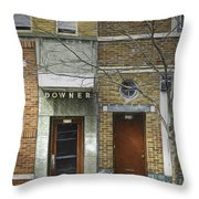 Downer Throw Pillow