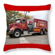 Downs Tanker 38 Throw Pillow