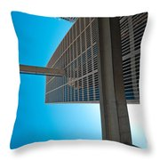 Downtown Detroit Up Throw Pillow
