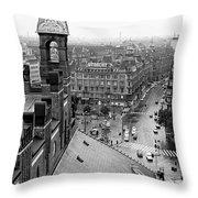Downtown Kobenhavn  Throw Pillow