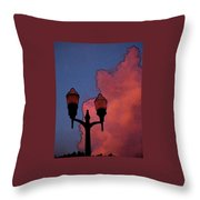 Downtown Lights Throw Pillow