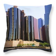 Downtown Los Angeles - 01 Throw Pillow