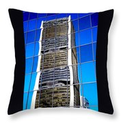 Downtown Montreal Throw Pillow by Juergen Weiss