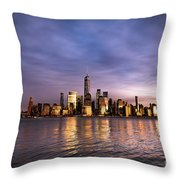 Downtown Nyc Throw Pillow